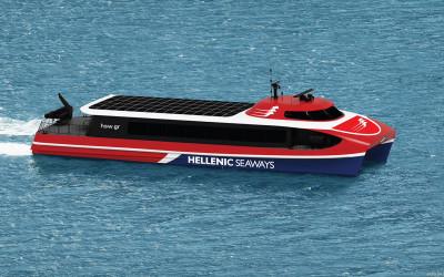 Brødrene Aa tildelt kontrakt på 3 hurtigbåter til Attica Group