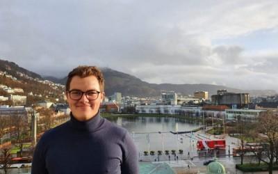 Maritime Bergen sjøsetter ny studentpraktikant!